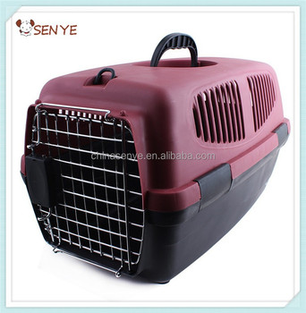 New Useful Pet Carrier Portable Dog Travel Bag Small Dog Flight Case Pet  Carrier Cage Pet 4740f7cda65e
