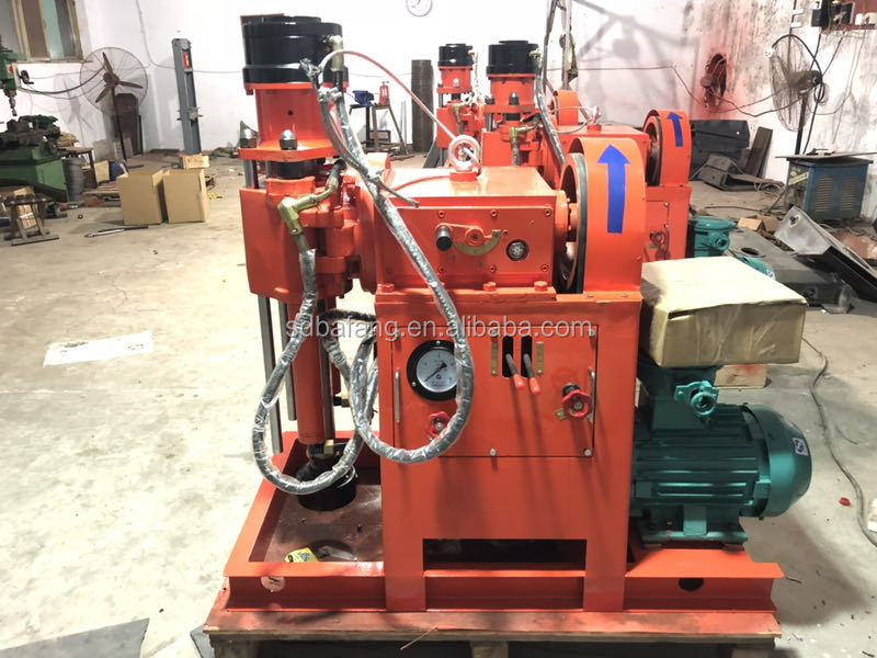 Hydraulic Multi-angle  Rotary Tunnel Drilling Rig for Mining Core Water Well Drilling Rig