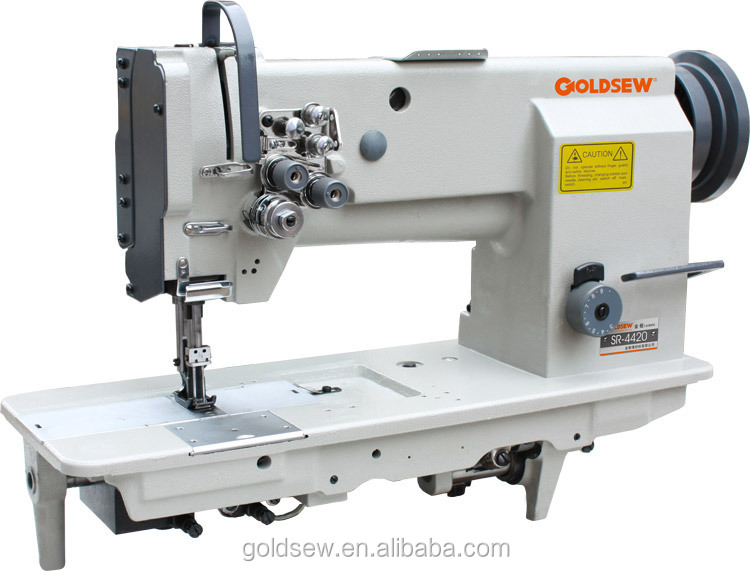Sr-4420 Double Needle Flat-bed Heavy Duty Sewing Machine
