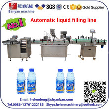 YB-YG4 Automatic gallon Water Filling Machine/gallon Water Bottling Plant/ Automatic Bottle Washing Filling Capping Machine
