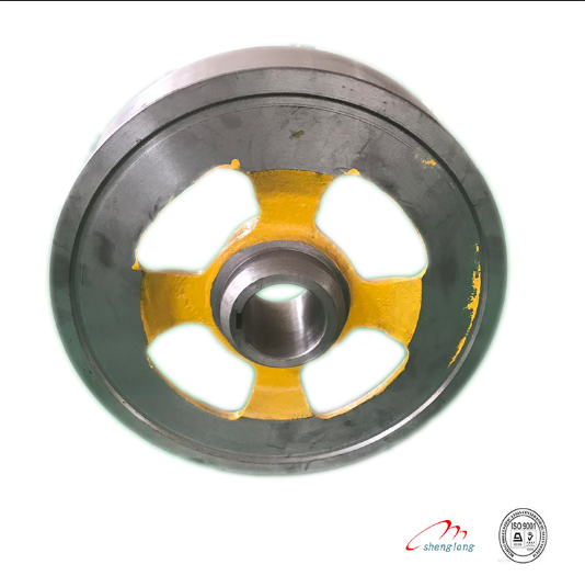 high quality guarantee elevator brake wheel with construction elevator