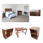 Queen Guestroom Hotel Wooden Furniture