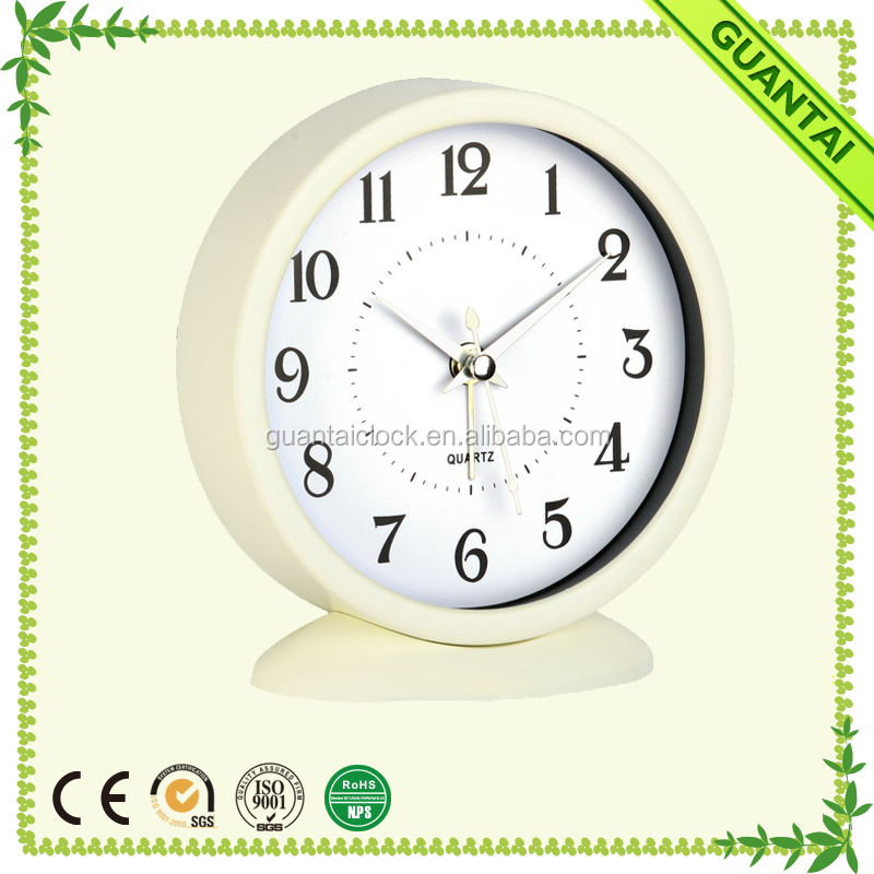 Fashionable and Attractive Packages Table Clocks with Alarm Function