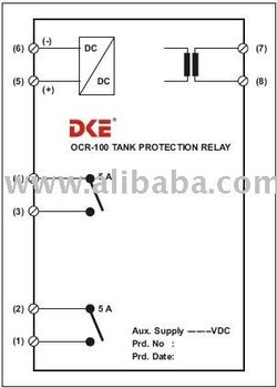 Overcurrent Protection Relays > Ocr-100 Tank Protection Relay - Buy  Overcurrent Protection Product on Alibaba com