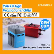 OEM&ODM products USB universal travel charge portable manual mobile phone charger (MPC-N4)