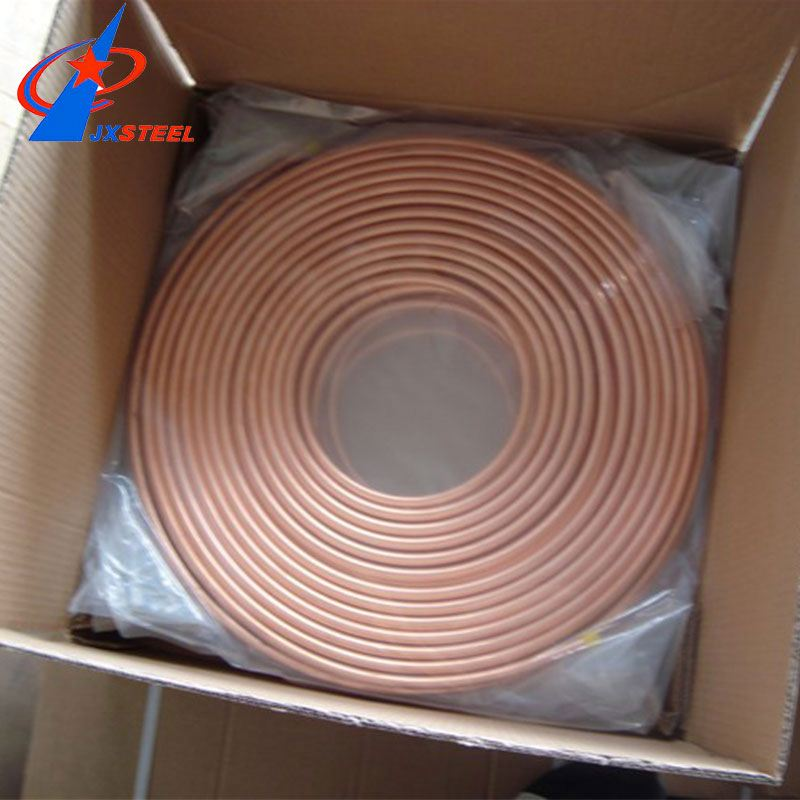 15mm Heat Resistant Astm B280 Air Conditioner Copper Pipe