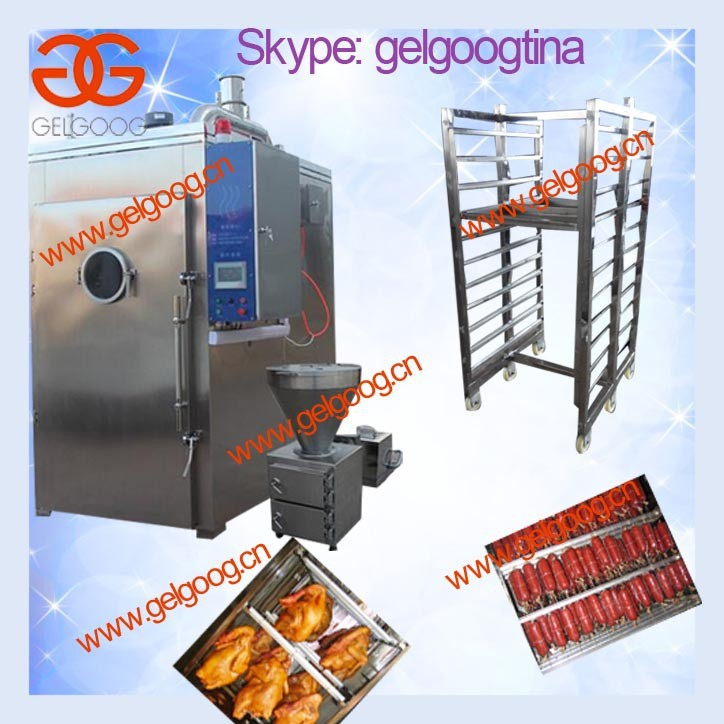meat smoke oven for sale/meat smoke house/poultry baking machine
