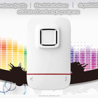 Led flash light wireless doorbell for the deaf person