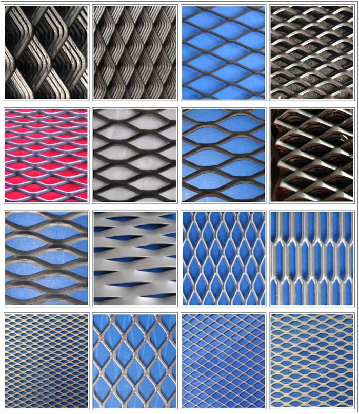 Stainless Steel Expanded Metal Mesh Galvanized Welded Wire
