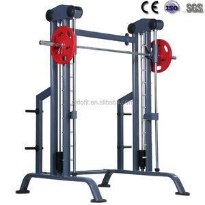 commercial gym fitness Equipment Smith machine multi function body building exercise 3D smith machine
