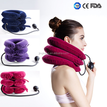 cervical pain relief car neck pillow Inflatable cervical neck brace Cervical traction device