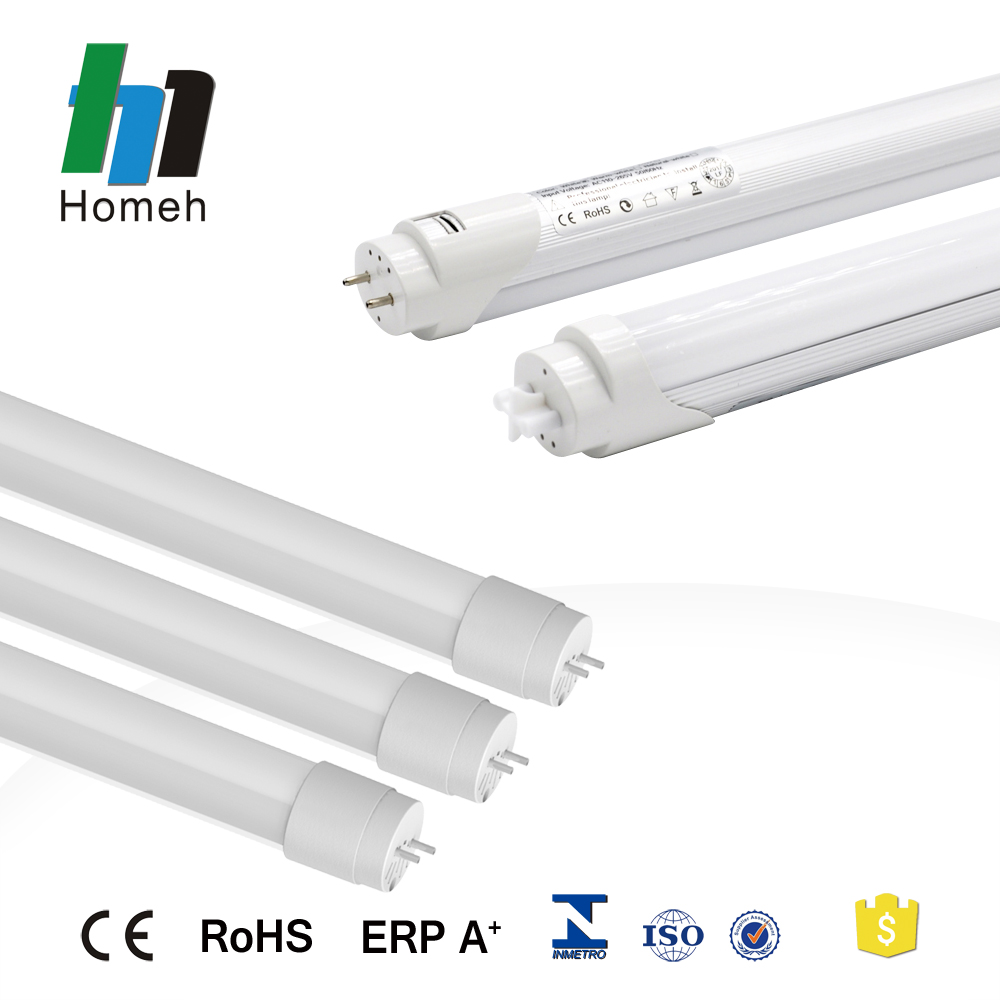 China fabricante de iluminación t8 luces 9 W 18 W 22 W 2ft 4ft 5ft tubo led