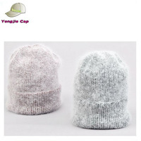 Hot sell Custom wool felt stylish unisex Baggy Skull Cap