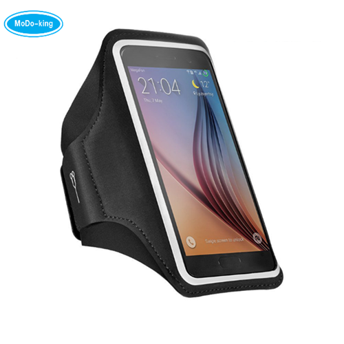 2017 factory wholesale IPX8 Leather Pouch armband for Phone