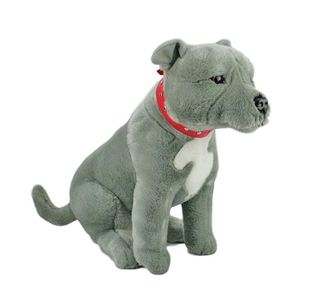 Buy Bocchetta Plush Toys Staffordshire Terrier Sitting Staffy Dog