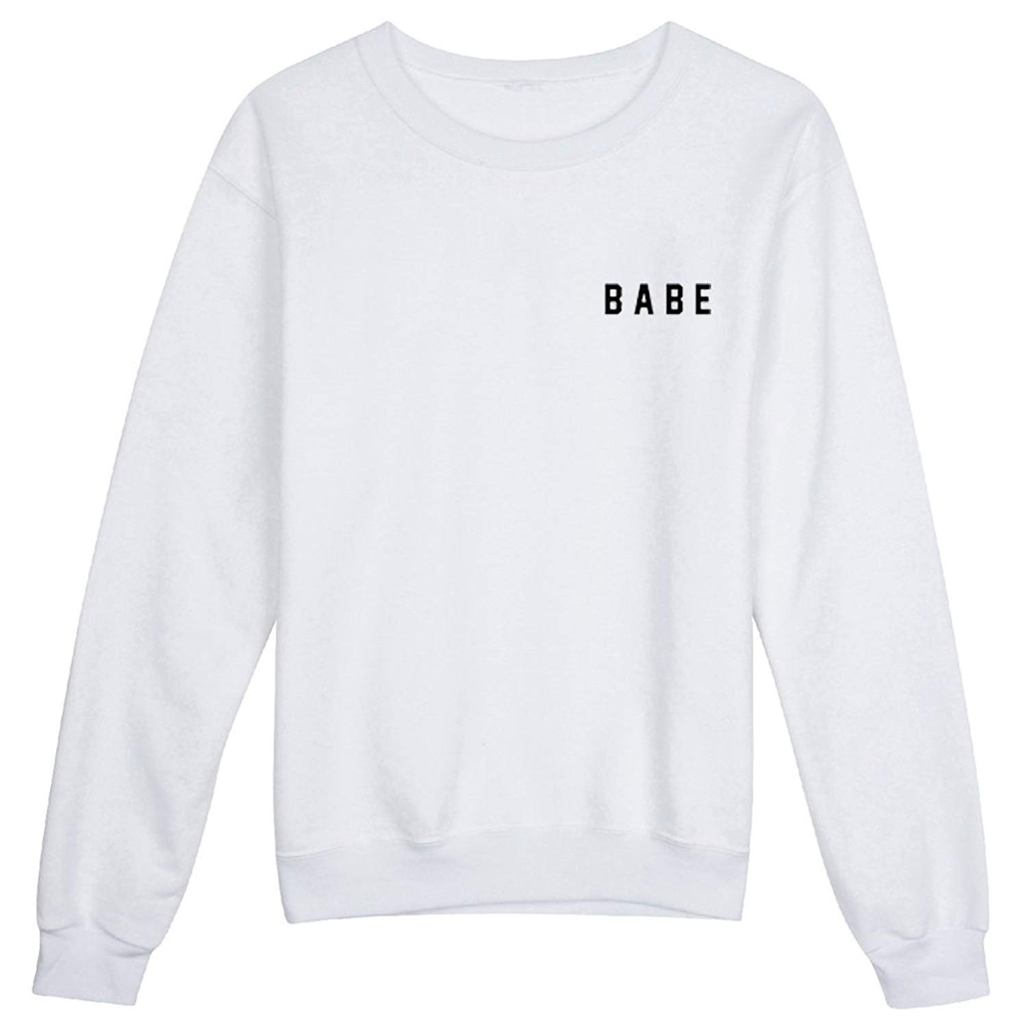 7923cd2a5805 Get Quotations · YITAN Women Graphic Cute Sweaters Funny Pullover Teen  Girls Sweatshirts