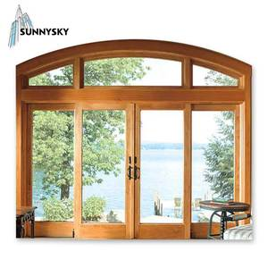 San Diego wholesale price aluminum sliding glass door and window with installation catalogue