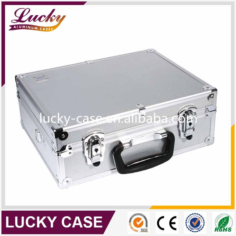 lockable aluminum framed lightweight small tool box case