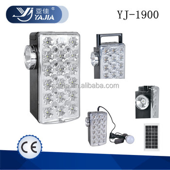 Yajia Yj 1900 Rechargeable Solar Led Lighting Systems Dp Yage