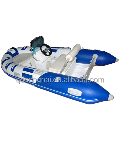4.3m Free shipping cheap north pak inflatable boat with CE certification
