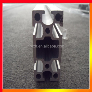 Anodized CNC deep process special types extruded alu profile