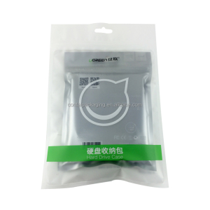 Mobile HDD bags packaging ziplock plastic hard drive case bags