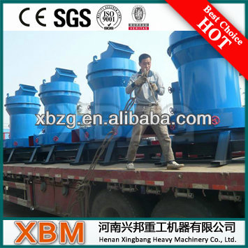 XBM Hot Sell Mineral Raymond Mill For Calcite/Limestone/Kaolin