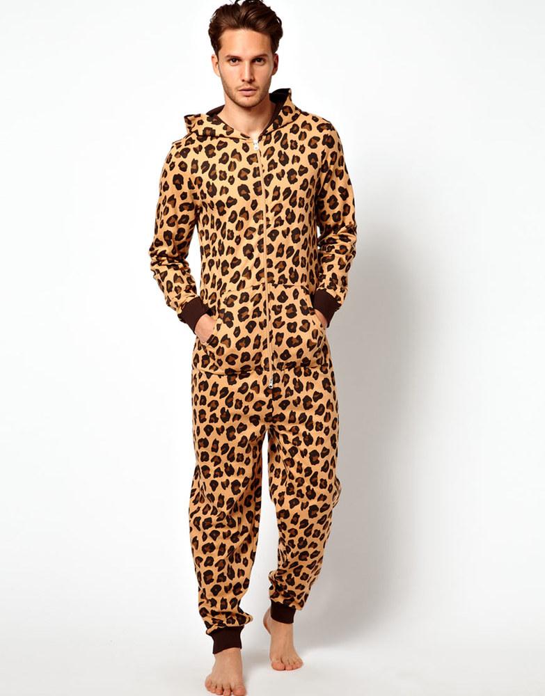 4d082e8ff2a1 Adult Onesie Pajama With Leopard Print - Buy Adult Onesie Pajama ...