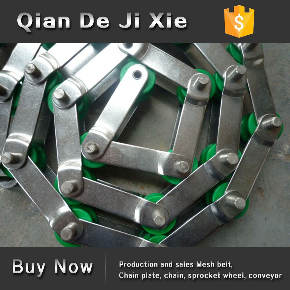 Ningjin Qiande Industrial Plastic Chip Conveyor Chain of PVC drive chain