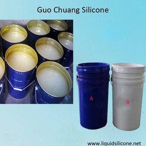 High quality RTV platinum liquid silicone rubber raw material for molding