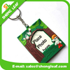 manufacture custom logo mini photo frame soft pvc rubber keychain