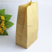 #6 Yellow Kraft Paper Bag for Bread Container