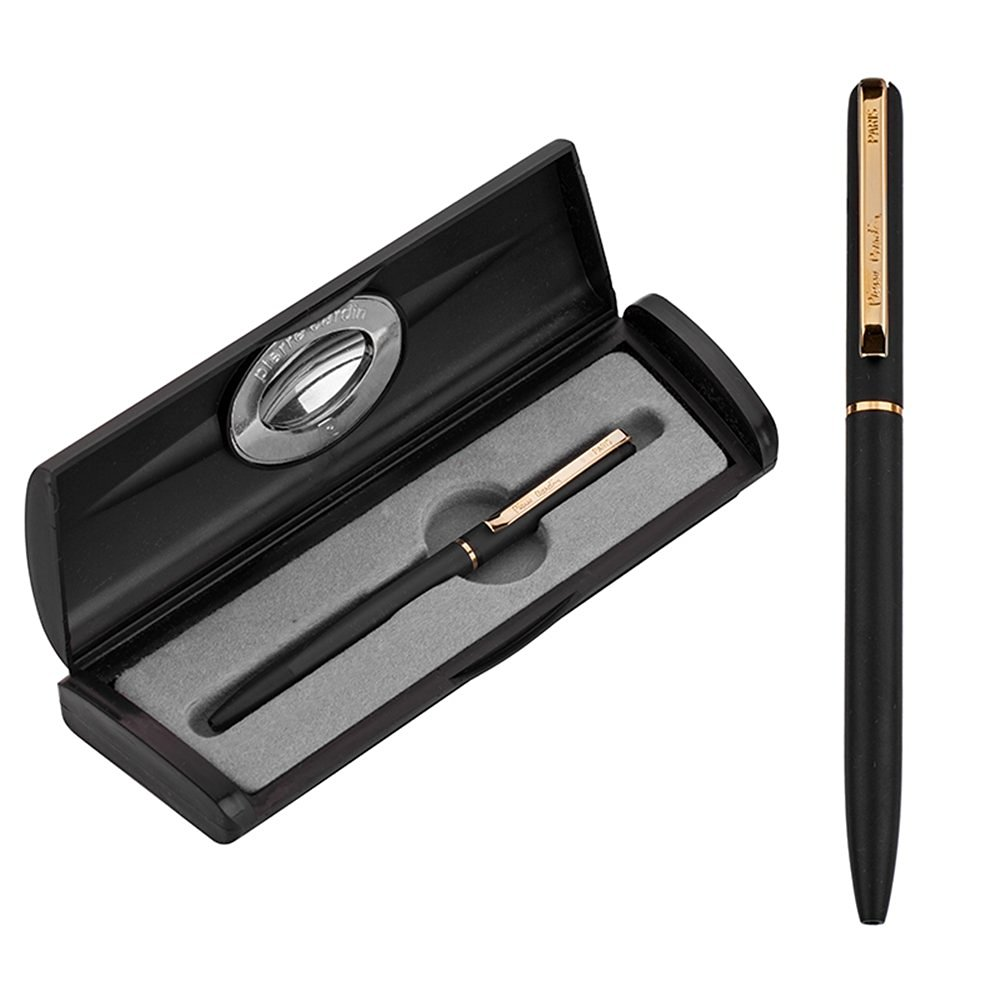 Pierre Cardin Triumph Nickel Pen Black & Gold FL011