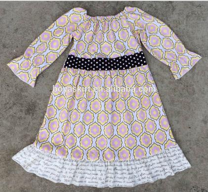 12afea90f245 nuovo arrivo disegni abito bimba volant modelli di vestiti per abiti estivi  ragazza