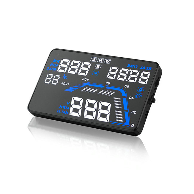 GPS E OBD 2 In 1 HUD-Q7 Hud Obd2 Car Head Up Display