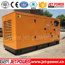 150kva 50Hz silent type natural gas generator by Engine C8.3G-G145