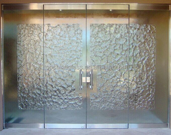 Sandblasted Doors Amp Wooden Door With Sandblasted Glass