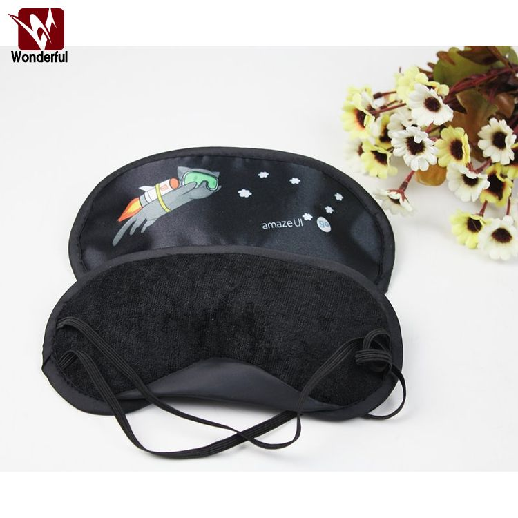 Design hotsell sleeping eye mask in solid plain colors