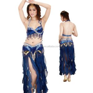 a3e3a51d0f57 Sexi Blue Belli Danc Costum
