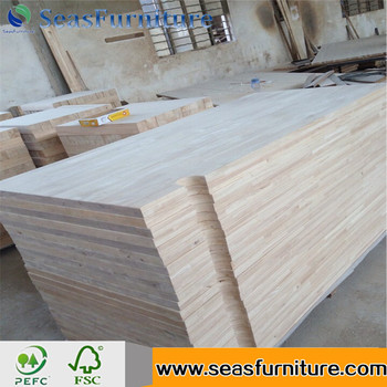 Rubberwood Butcher Block Tops/countertops/island Tops/Solid Wood Cabinet  Tops/worktops