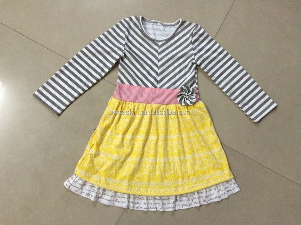 The Latest Design For Baby Girl Dresses Baby Girls Casual Dress ...