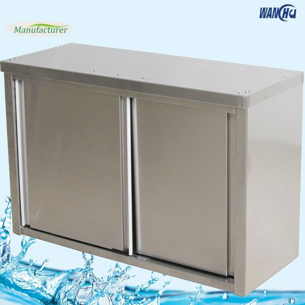 Malaysia Kitchen Cabinet Manufacturer: Commercial Wall Mounted Cabinet With Sliding Doors In