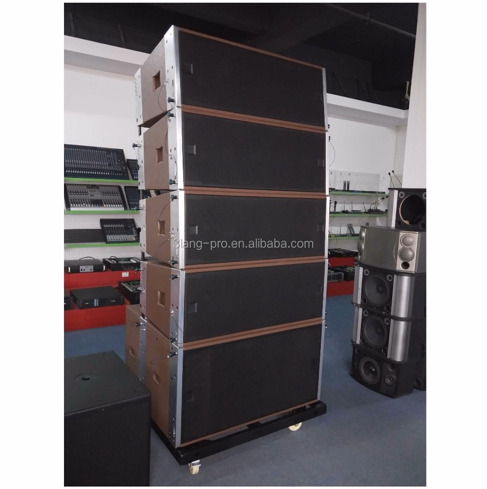 Enping factory PA system hot sell Quality assurance cheap passive Line Array dual 12 inch Made in China