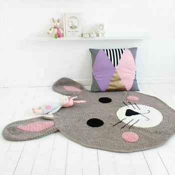 Hand Crochet Rugcrochet Animal Blankethand Knitted Carpet Buy