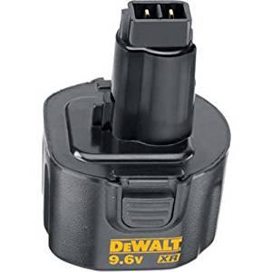 DEWALT DW9061 XR 9.6-Volt 1.7-Amp NiCd Pod Style Battery Pack