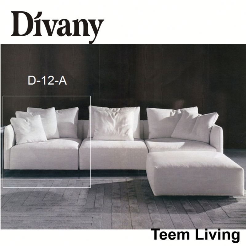 DIVANY best small sectional sofa/furniture accessory/leather sleeper sofa D-12-A