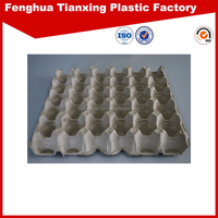High quality Eco-friendly Recycled paper Pulp blank egg cartons