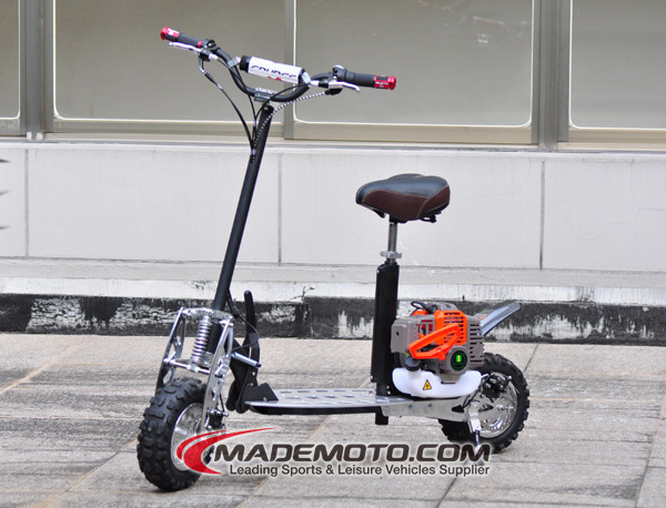 2012 Newest Off Road 2 Wheel Gas Powered Scooter 49cc Buy Gas
