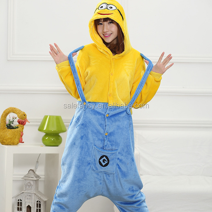 Cotton Sexy Adult Footie Pajamas Adult Heated Plush Onesie Qwao ...