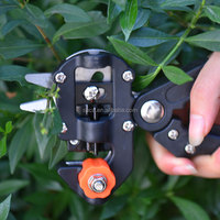 function omega grafting tool with three blades/garden hand tool